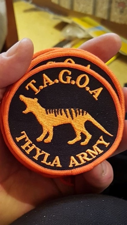 TAGOA Thyla Army Patch