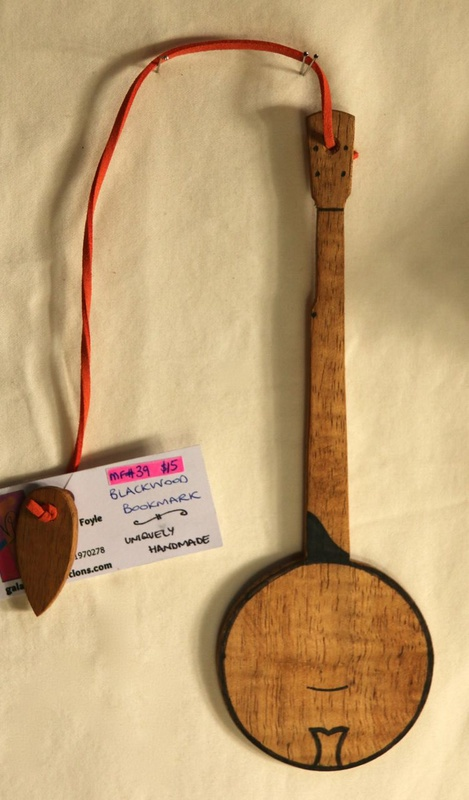 Blackwood Banjo Bookmark
