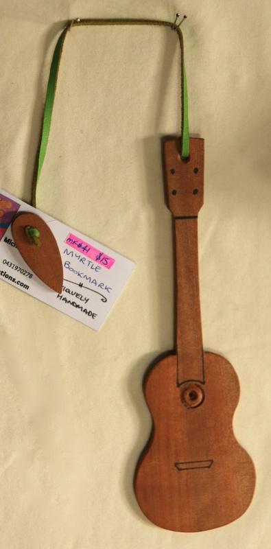 Myrtle Guitar Bookmark