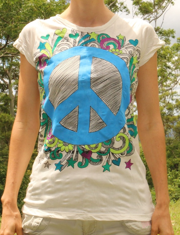 Shirt - Peace Sign (size M)