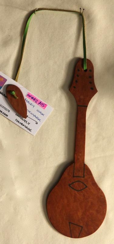 Hairy Oak Guitar Bookmark
