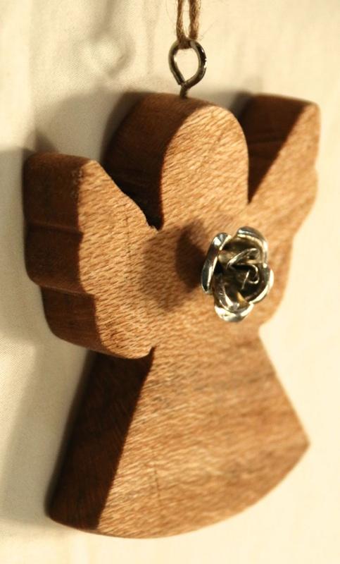 Angel Ornament - Queensland Silky Oak