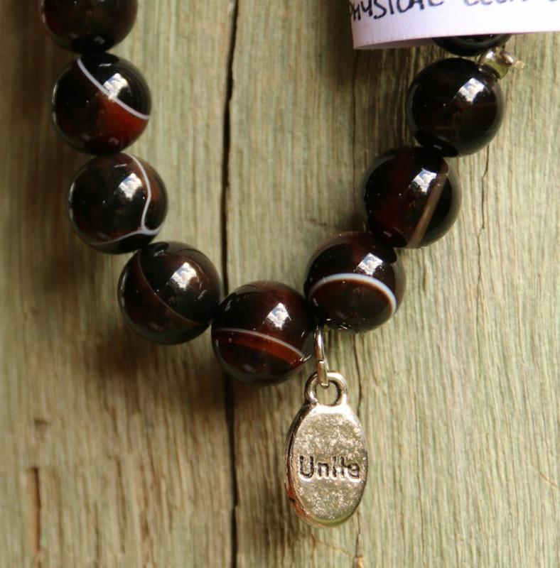 472. Agate 'Unite' Bracelet