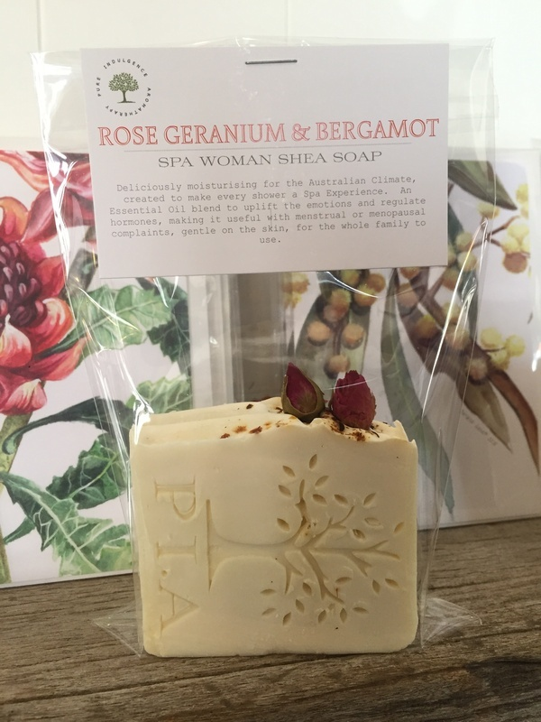 Rose Geranium & Bergamot SHEA SPA WOMAN