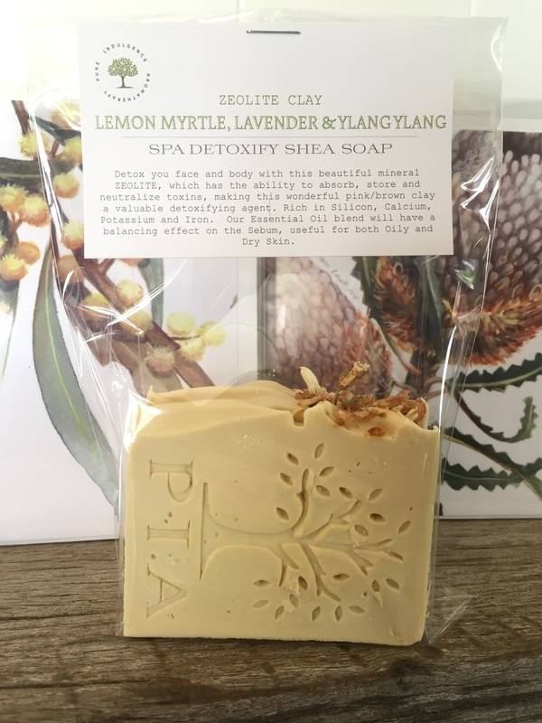 Lemon Myrtle, Lavender & Ylang Ylang SHEA SPA DETOXIFY
