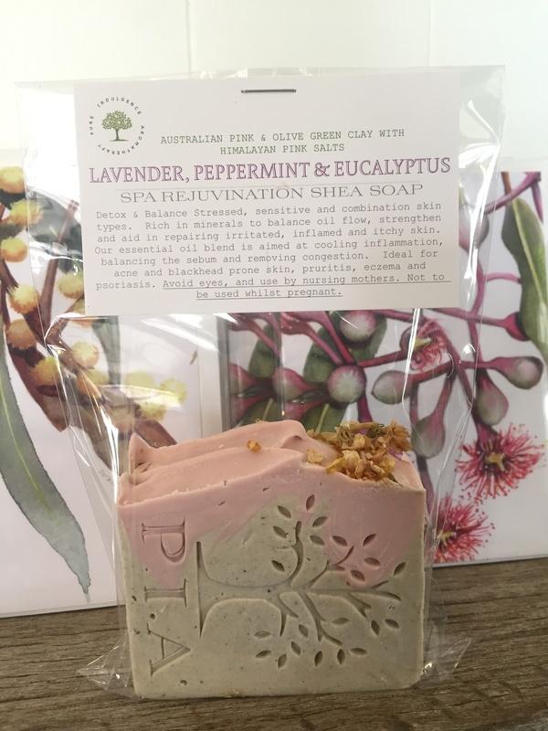 Lavender' Peppermint & Eucalyptus SHEA SPA REJUVINATION