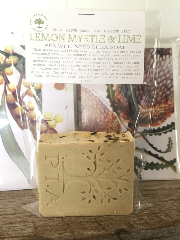 Lemon Myrtle & Lime  SHEA SPA WELLNESS