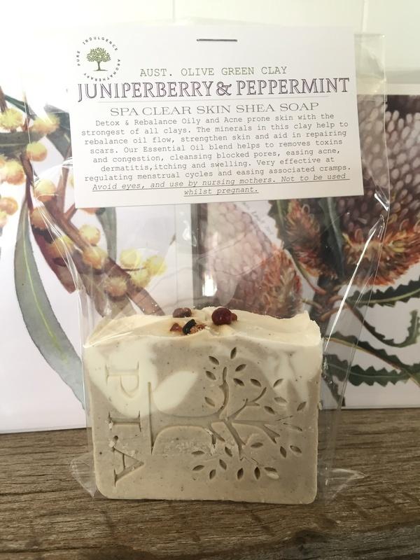 Juniperberry & Peppermint SHEA SPA CLEAR SKIN