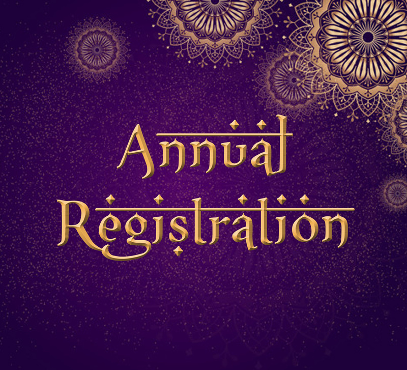 Annual Registration