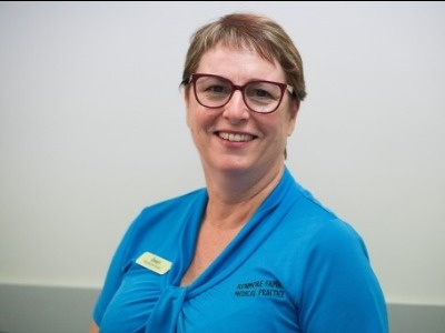 Gwyn, nurse at Kenmore Family Medical Practice, GP in Indooroopilly, Chapel Hill, Kenmore Hills, Bellbowrie, Pullenvale, Fig Tree Pocket.
