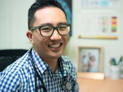Dr Brendan Ah Yui a doctor at Kenmore Family Medical Practice