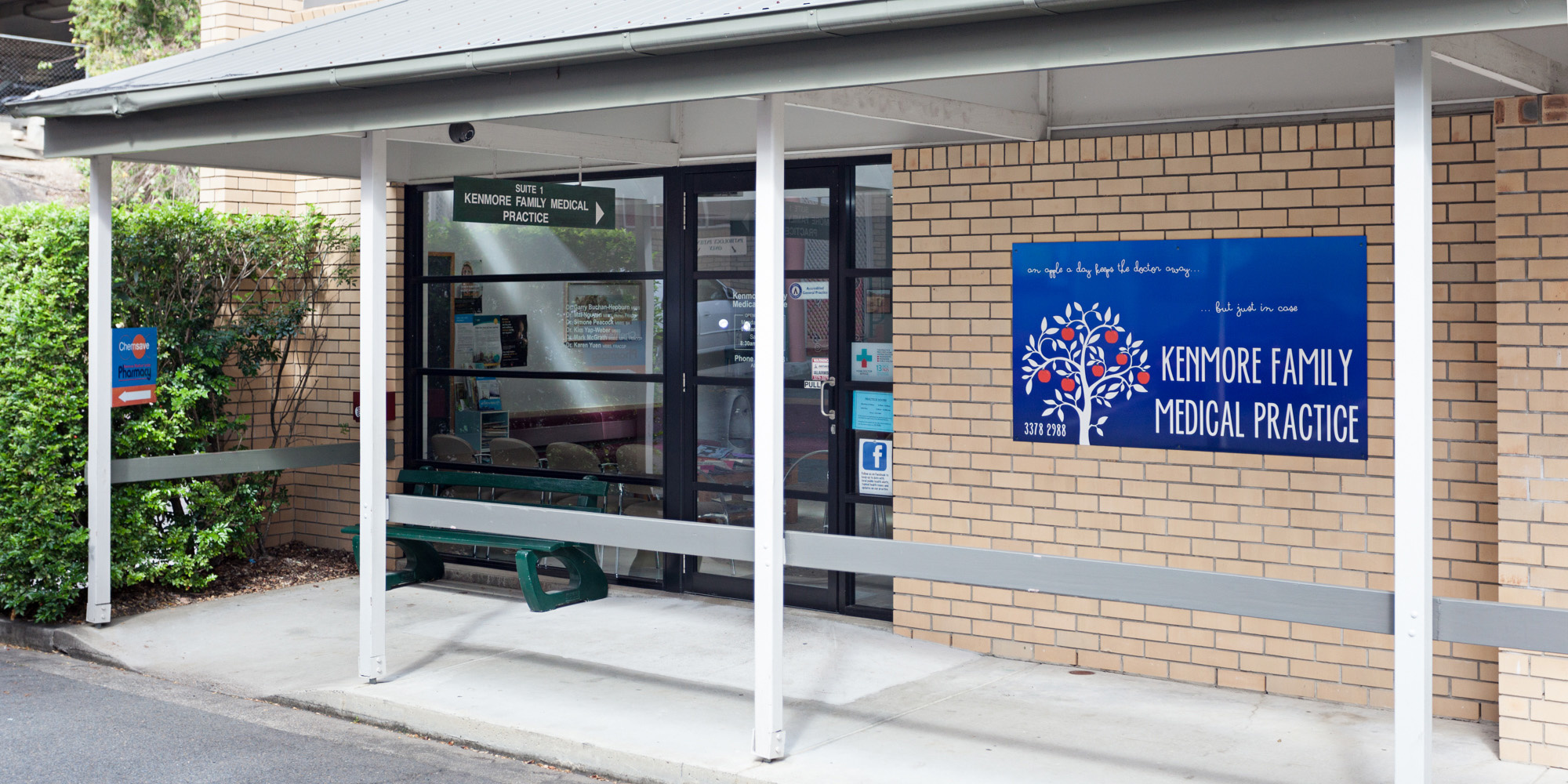 Kenmore Family Medical Practice at 1/2081 Moggill Rd, Kenmore.