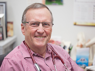 Dr Garry Buchan-Hepburn a doctor at Kenmore Family Medical Practice