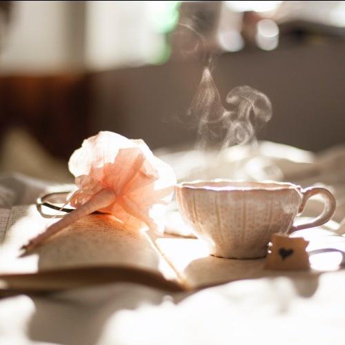 Tea and journal