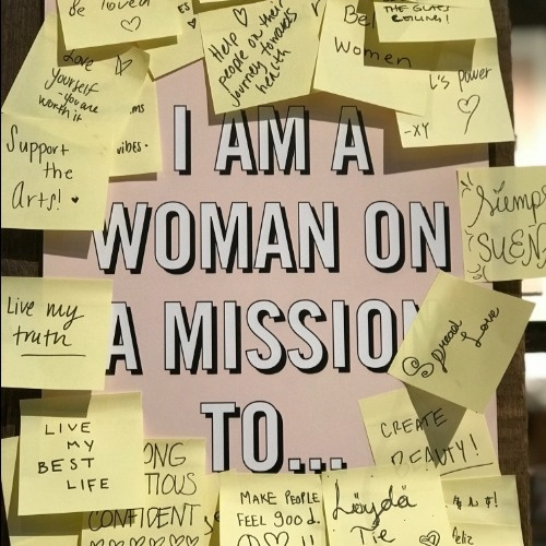 I am a woman on a mission