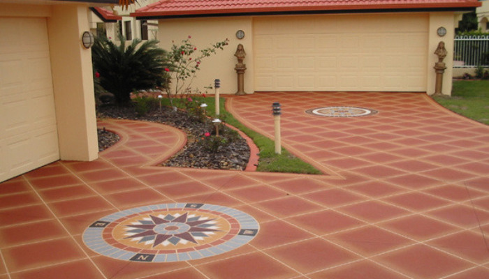 concrete resurfacing, driveway, decorative, patio, pool surrounds, painting, Brisbane northside, North Lakes, Burpengary, Caboolture