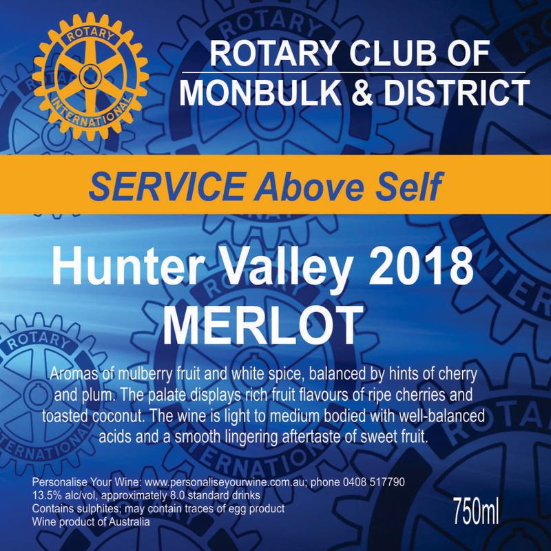 Hunter Valley MERLOT 2018