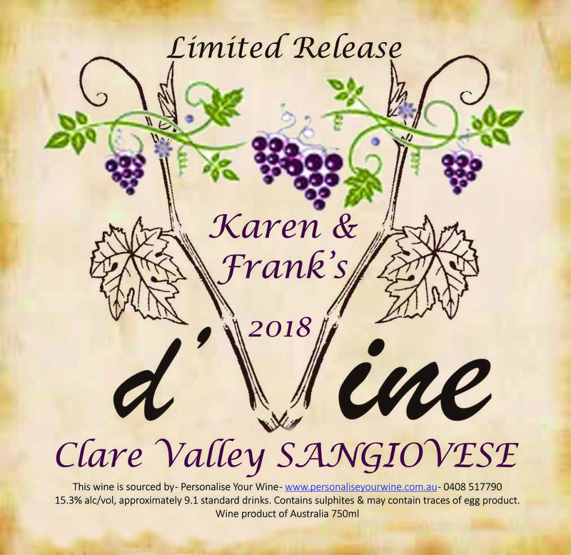 Clare Valley SANGIOVESE 2018 (Limited Release)