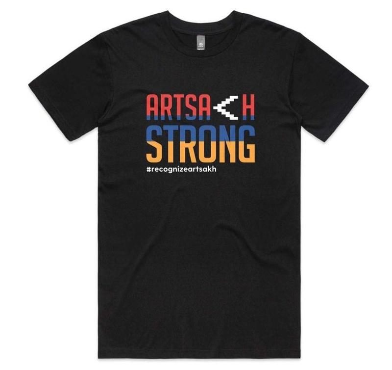 Support for Artsakh t-shirt