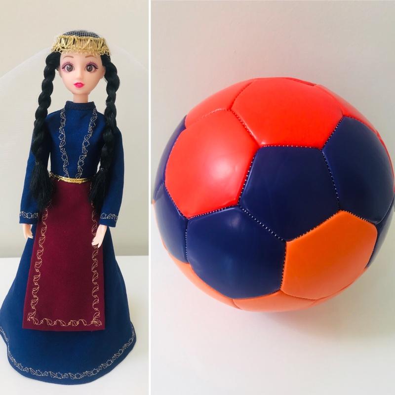 Nairi Doll 1 + Soccer Ball