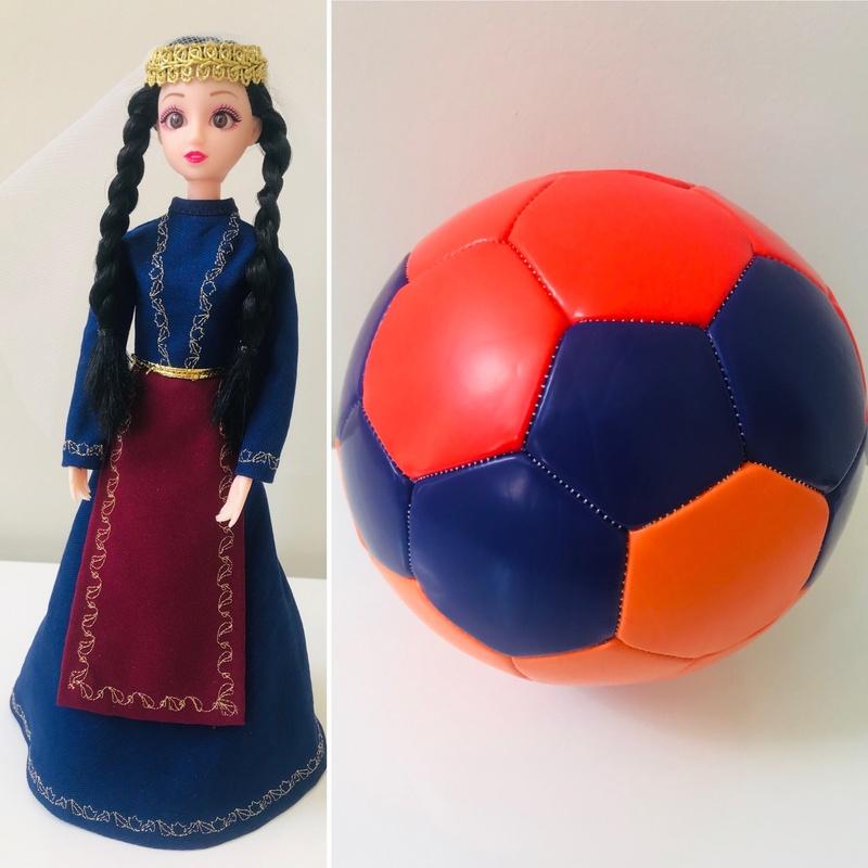 Nairi Doll II + Soccer Ball