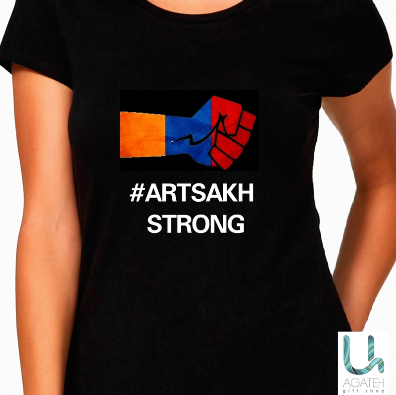 #ARTSAKH STRONG t-shirts (black)