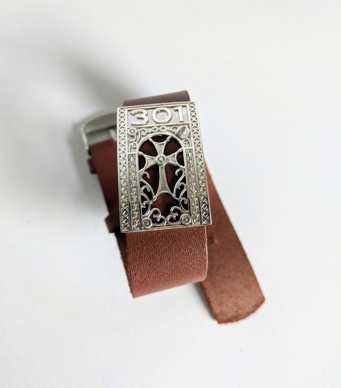 Silver Handcrafted Bracelet - Khachkar