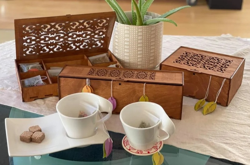 Wooden Teabox - Made in Armenia 🇦🇲