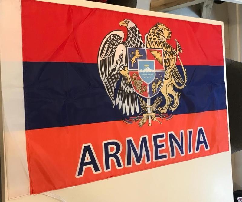 Flag 45*30cm  Armenia