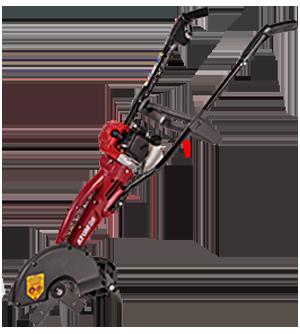 Atom 454 Deluxe Domestic 2-Stroke Lawn Edger
