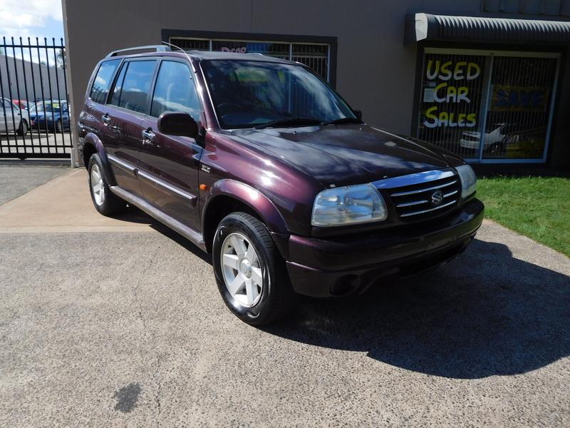 2002 Suzuki XL7 MANUAL