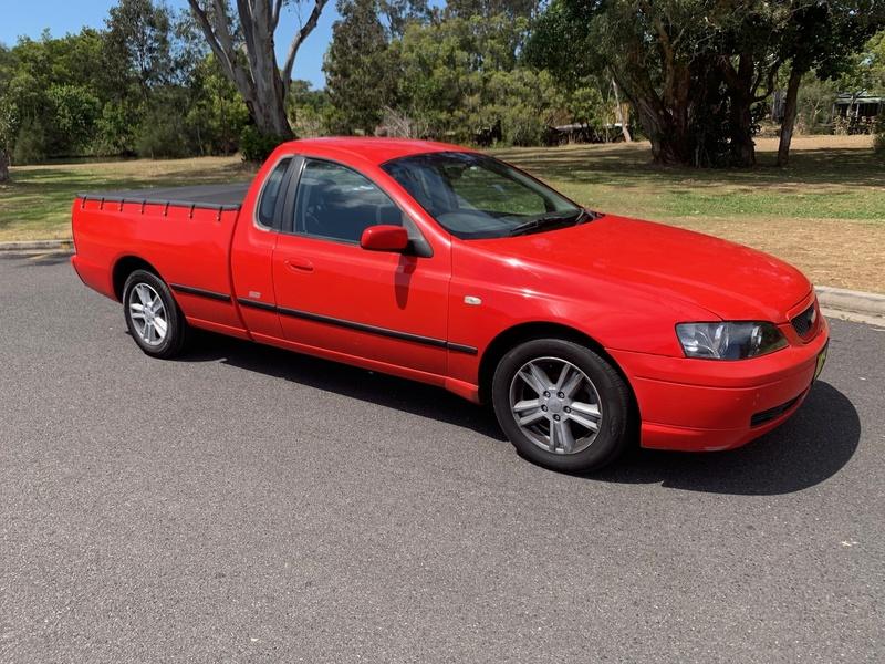 2005 Ford Falcon Ute SE MKII Auto