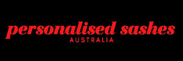 Personalised Sashes Australia